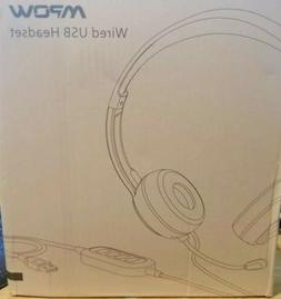 Mpow 071AB USB Headset/ 3.5mm Computer Headset with Micropho