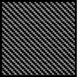SCALE MOTORSPORT 1/24 Comp. Carbon Fiber Decal Twill Weave B