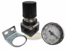 "1/4"" NPT Air Compressor Regulator w/ 0-160 PSI Pressure Gaug"