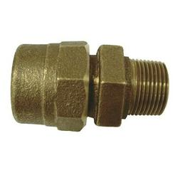 """1"""" Compression x 1"""" Male Brass Adapter"""