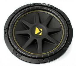 Kicker 10C12 12 Inch 300W 4-Ohm COMP Series Car Audio Subwoo