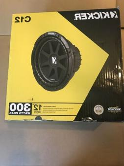 """KICKER 12"""" 300W 4-Ohm COMP Car Audio Subs Subwoofers C12   """