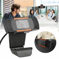 1080P HD USB Webcam Auto Focusing Web Camera w/Microphone fo