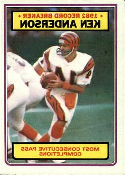 1983 Topps Football Card #s 1-200 +Rookies  - You Pick - 10+