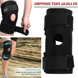 1x Knee Sleeve Compression Brace Support For Sport Joint Pai