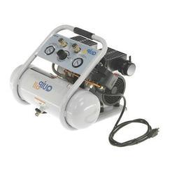Quipall 2-1-SIL Oil Free Compressor, 1.0 HP, 1.6 gallon, Ste