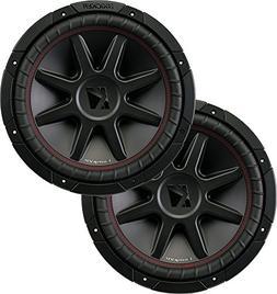 2 Kicker 43CVR124 12 Dual Voice Coil 4 Ohm Car Stereo Subwoo