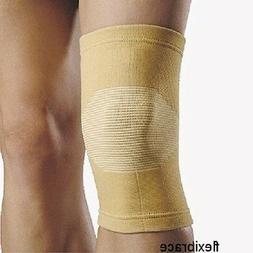 2 Knee Brace Support Elastic Sleeve Compression by Flexibrac