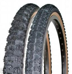 "20x1.75""  / 20x2.125"" Comp III 3 skinwall BMX tires pair by"