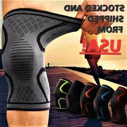1x 2x Compression Knee Sleeve Brace/Running/Arthritis/Joint