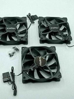3-Pack Long Life Computer Case Fan 120mm Cooling Case Fan