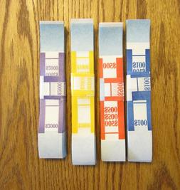 400 SELF SEALING CURRENCY STRAPS  MONEY BILL BANDS STRAP PMC