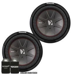 """Kicker 43CWR104 10""""  Dual Voice Coil 4 ohm Comp R woofers Bu"""