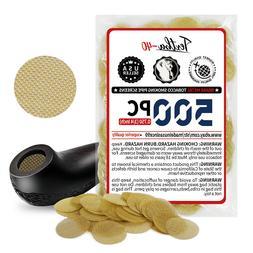 """500 Beamer Brass Metal Tobacco Smoking Pipe Screens .500"""" 1/"""