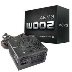 500 Watt - EVGA 500 W1 80 Plus Desktop Computer Power Supply