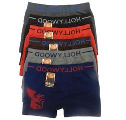 6 Seamless Boxer Briefs HOLLYWOOD PRO Compression Underwear