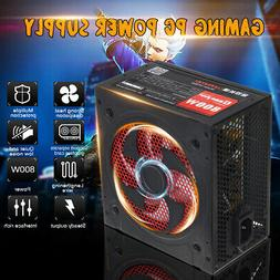 800W 220V PC Power Supply Quiet ATX Gaming PFC 20+4pin For D