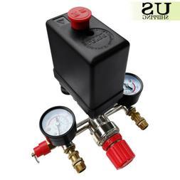 90-120PSI Air Compressor Pressure Switch Control Valve Manif