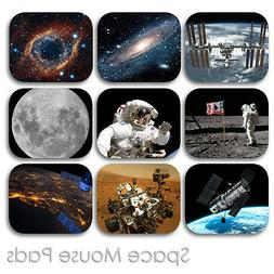 SPACE COSMOS PLANETS SHUTTLE MOUSE PAD CUSTOM COMPUTER MOUSE