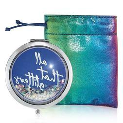 Avon All That Glitter Compact Mirror