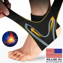 Ankle Support Brace Compression Tendon Strap Elastic Bandage