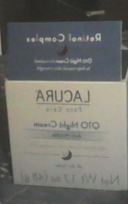 ANTI-AGING Night LA-CURA Q-10 w/BIOFLAVANOID N RETINOL COMPL