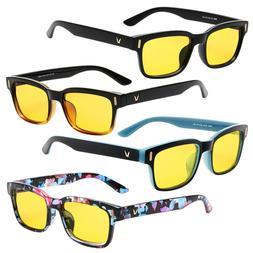 Anti Blue Light Gaming Glasses Computer Blocking UV Protecti
