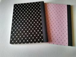 Composition Book Glitter Bling Black 9.75 x 7.5 80 Sheets St