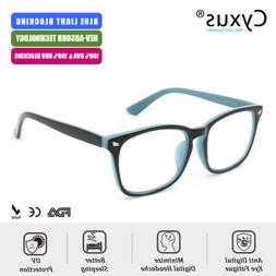 Cyxus Blue Light Blocking Computer Glasses Anti Eyestrain Fo