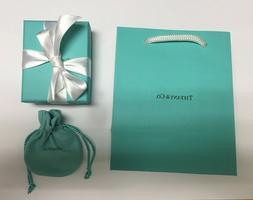 Brand New Authentic Tiffany & Co. Jewelry Gift Bag Gift Box