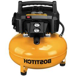 Bostitch BTFP02012 6-Gallon 150 PSI 78.5 dBA Oil-Free Electr