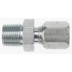 "C2404-08-08 Compression Hydraulic Fitting 1/2"" Flareless X 1"