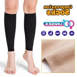 Calf Compression Socks 20-30 mmhg Knee High Stockings Varico
