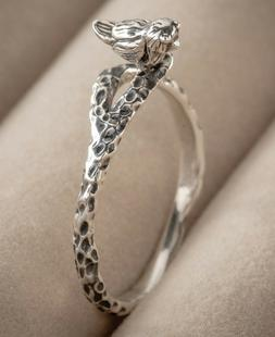 Victorian Trading Co Perched Silver Sparrow Ring Size 7