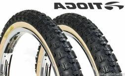 Tioga Comp 3 III old school BMX skinwall gum wall tires 20x