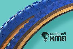 "Kenda Comp 3 old school BMX skinwall gumwall tires 24"" STAGG"