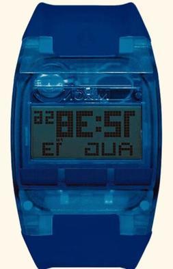 comp all cobalt blue digital watch surf