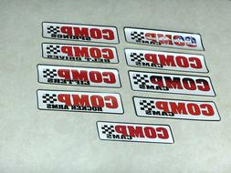 COMP CAMS CAMSHAFTS NASCAR NHRA RACING DECALS STICKERS UR CH