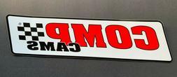 COMP CAMS Large Glossy Logo Decal ~ NHRA NASCAR Sponsor Stic