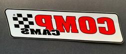 COMP CAMS Medium Glossy Logo Decal ~ NHRA NASCAR Sponsor Sti