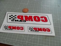 COMP CAMS MULTI PCS Sticker / Decal Automotive ORIGINAL OLD