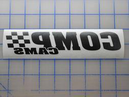 "Comp Cams Sticker 3"" 5.5"" 7.5"" 11"" Camshaft LS SBC Turbo Nit"