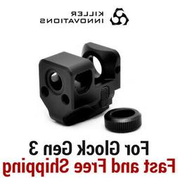 comp compensator muzzle brake for 9mm gen3