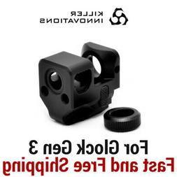 Killer Innovations Comp/Compensator/Muzzle Brake for 9mm Gen