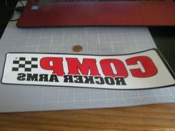 COMP ROCKER ARMS Sticker / Decal  Automotive  ORIGINAL OLD S