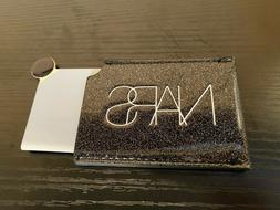 Nars Compact Mirror On The Go with Nars Case Black Glitter N