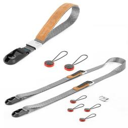 Peak Design Compact Strap Pack - Leash + Cuff - Ash