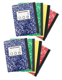 Composition Books Notebooks  Wide Ruled - 80 Sheets 160 page