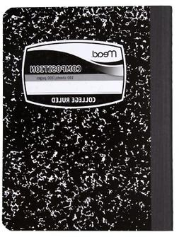 Mead Composition Books, Notebooks, College Ruled Paper, 100
