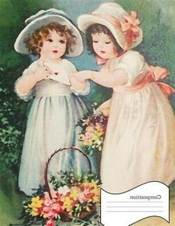 Composition: Vintage Notebook Children, Shabby Chic Comp Boo